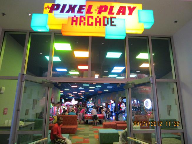 The necessary arcade. Wonder if Wreck it Ralph was in the works before they finished this?
