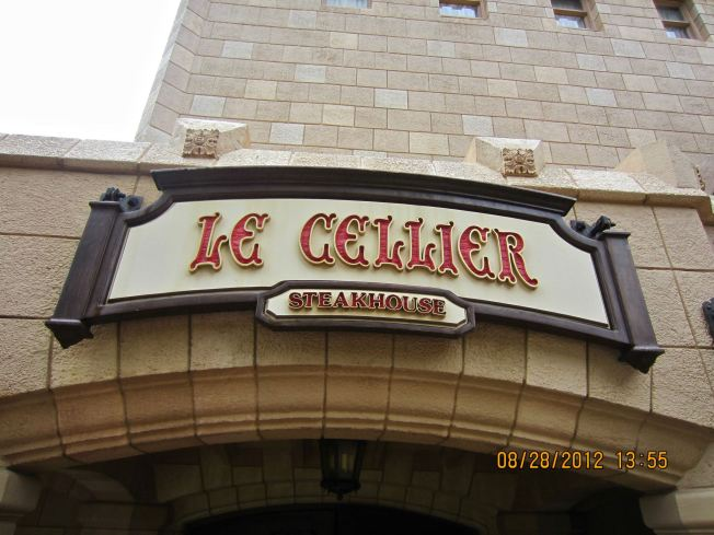 I still haven't decided if my favorite meal was Le Cellier or California Grille. The steak at Le Cellier was definitely better but I think the whole experience at California Grille was more grand.