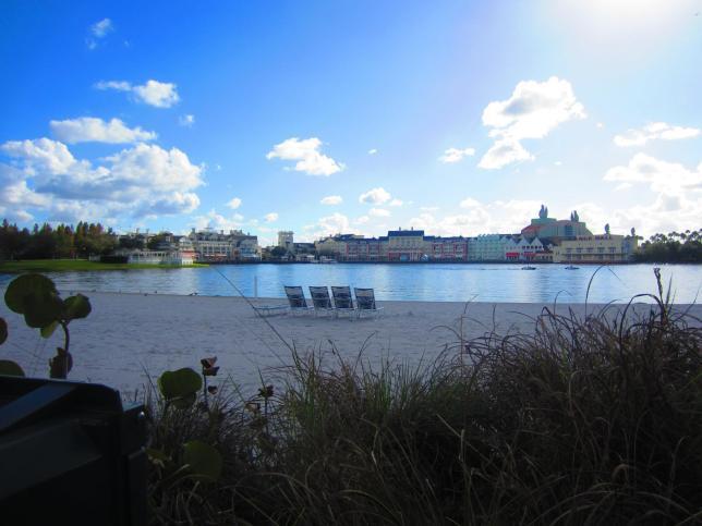 The Boardwalk resort from Beach Club.