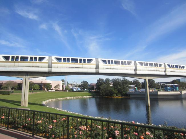 Like taking pictures of the Monorail for instance.