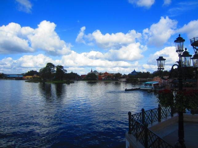 Some World Showcase action.