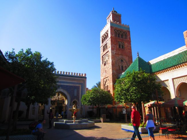 The big tower in Morocco.